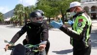 Muğla'da motosikletlerde ek yolcu taşımak yasaklandı