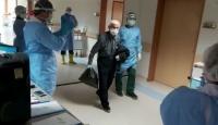 82 yaşındaki Artvinli koronavirüsü yendi