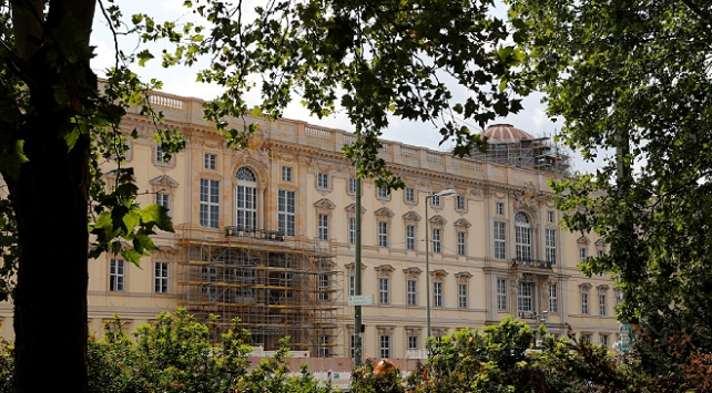 Berlin Sarayında yangın çıktı