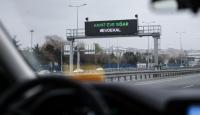 İstanbul'da trafik kazaları da azaldı