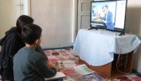 Ağrılı kardeşler artık EBA TV izleyebilecek