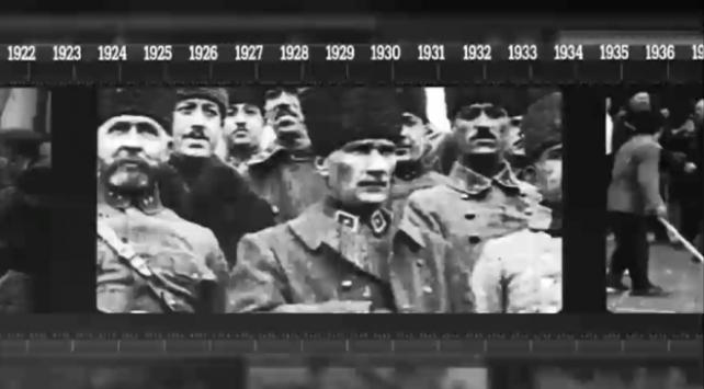 '100 Yıllık Mücadele' 23 Nisan'a kadar her gün TRT Haber'de