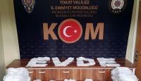Tokat'ta izinsiz üretilen 50 bin maskeye el konuldu