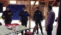 İhbara giden polise pasta sürprizi