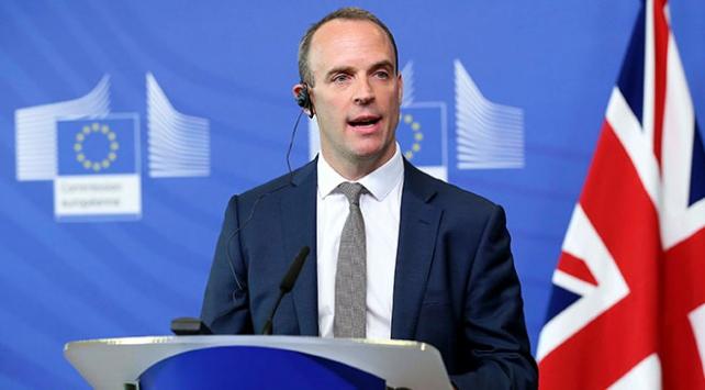 İngiliz Dışişleri Bakanı Raabdan Çavuşoğluna teşekkür
