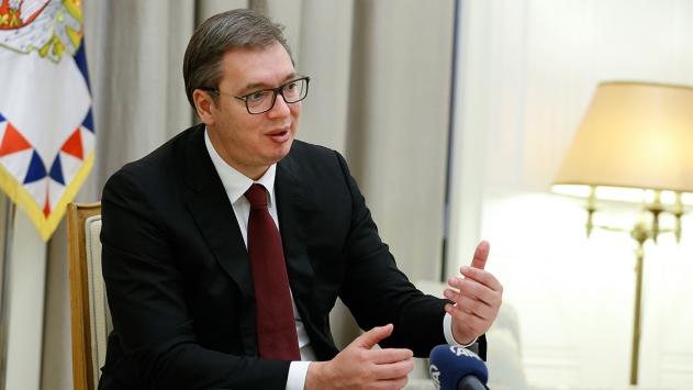 Sırbistan Cumhurbaşkanının oğlu koronavirüse yakalandı