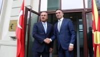 Çavuşoğlu'ndan Kuzey Makedonyalı mevkidaşının teşekkürüne 'Yanınızdayız' yanıtı