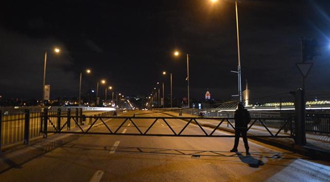 İstanbulda bakım onarım sebebiyle kapatılan köprüler yeniden açıldı