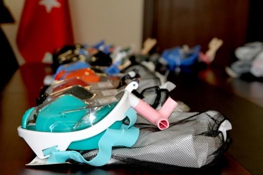 """Trakya Üniversitesinde modifiye edilen """"su altı maskeleri"""" entübe hastalara nefes olacak"""