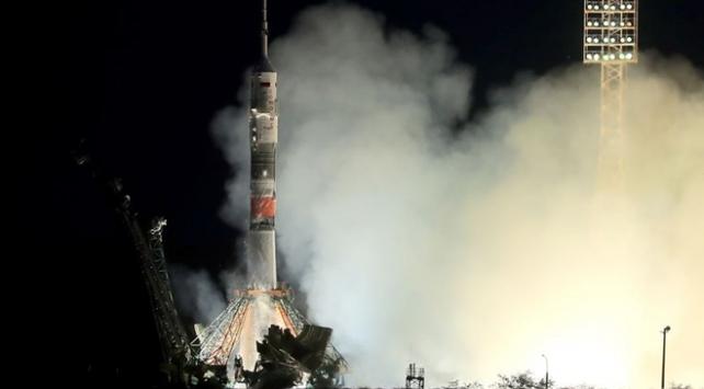 Soyuz MS-16 kapsülü uzaya fırlatıldı