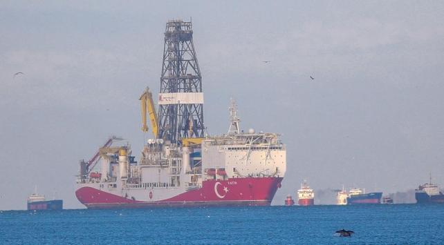 Fatih Sondaj Gemisi Boğazdan geçiş için hazırlanıyor