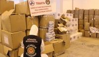 İstanbul ve İpsala'da 1 milyon 200 bin liralık tıbbı malzeme ele geçti