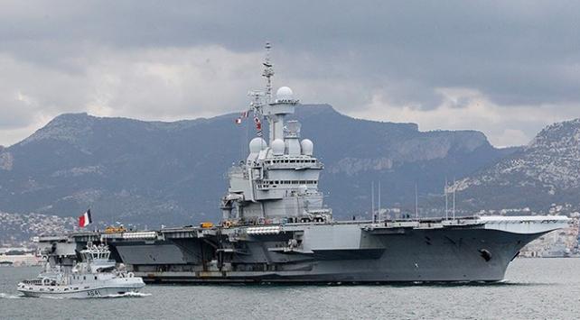 Fransaya ait uçak gemisinde Covid-19 tespit edildi