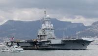 Fransa'ya ait uçak gemisinde Covid-19 tespit edildi