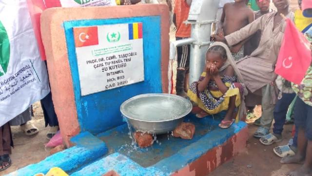 Cemil Taşcıoğlu adına Çad'da su kuyusu açıldı
