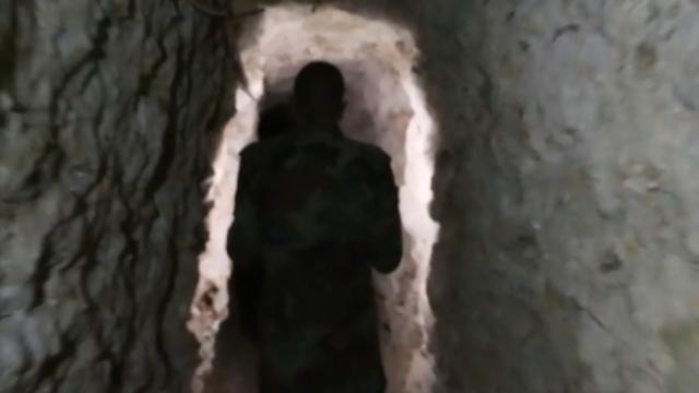 Rasulayn'da Türkiye'ye uzanan tünel bulundu