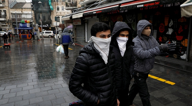 İsrail polisi, Doğu Kudüste COVID-19 testi yapılan kliniği kapattı