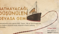 Batmayacağı düşünülen devasa gemi 'Titanic'