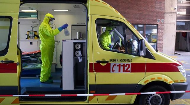 Belçikada koronavirüs vaka sayısı 35 bine yaklaştı