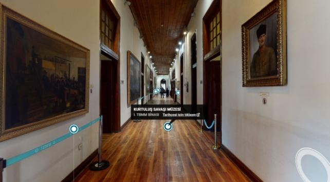 Sanal müzeleri 800 binden fazla kişi ziyaret etti