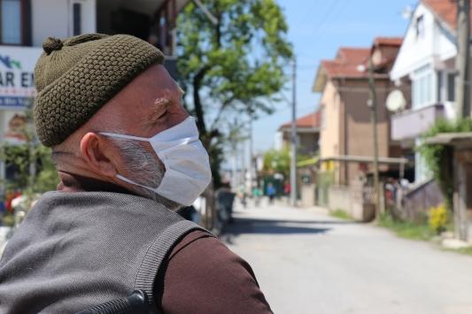 Sakaryada bir sokak koronavirüs tedbirleri kapsamında karantinaya alındı