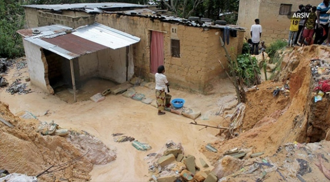 Kongo Demokratik Cumhuriyetinde su taşkınlarında 24 kişi öldü