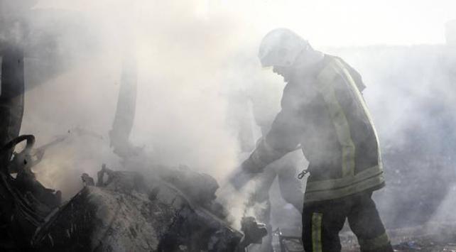 Afrinde bomba yüklü araçla terör saldırısı
