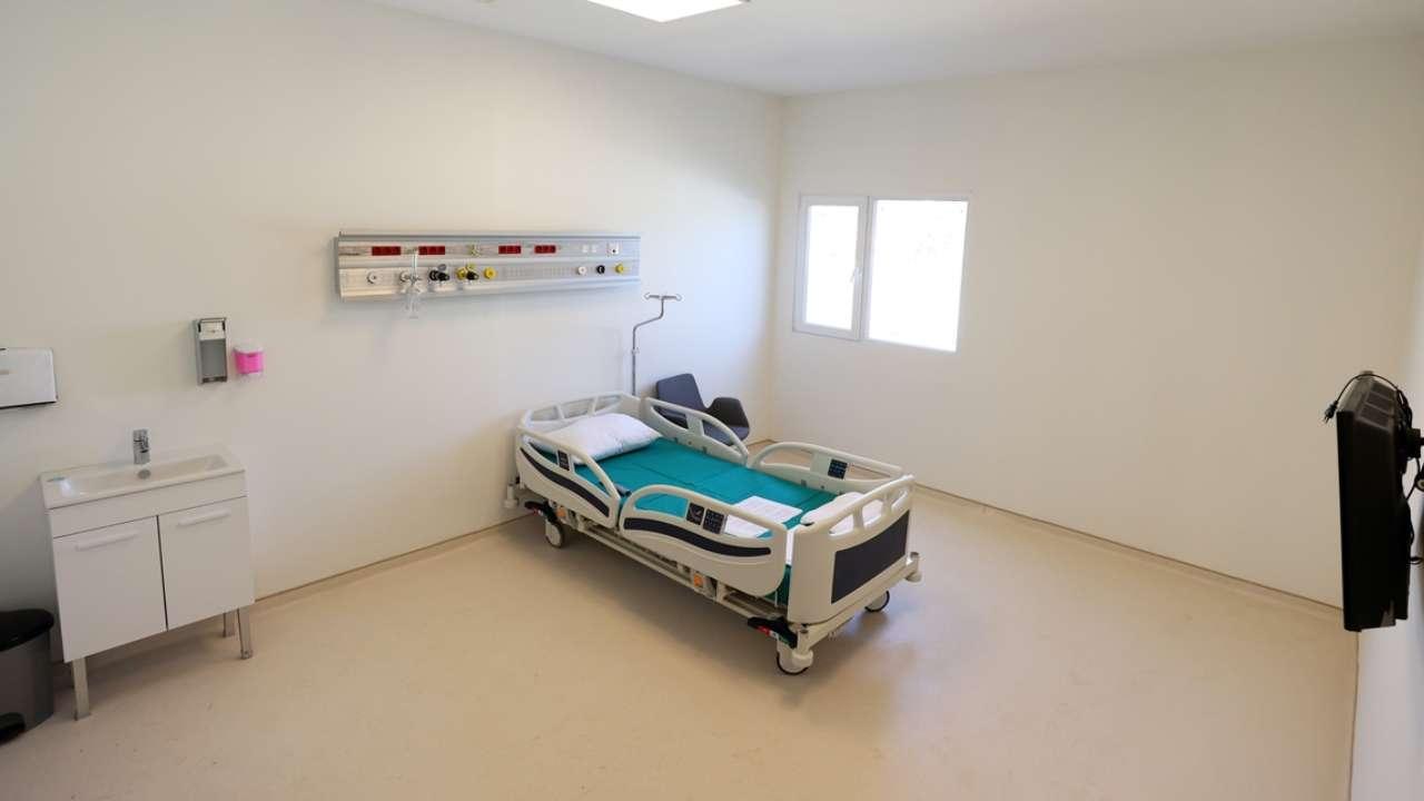 Sancaktepedeki bin yataklı hastane