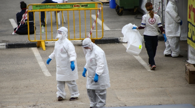İsrailde koronavirüsten can kaybı 164e yükseldi