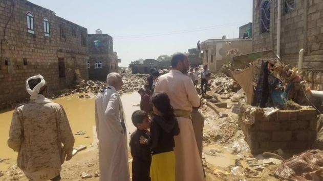 Yemende sel nedeniyle 7 kişi hayatını kaybetti