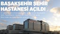Türkiye'nin en büyük üçüncü sağlık yatırımı: Başakşehir Şehir Hastanesi
