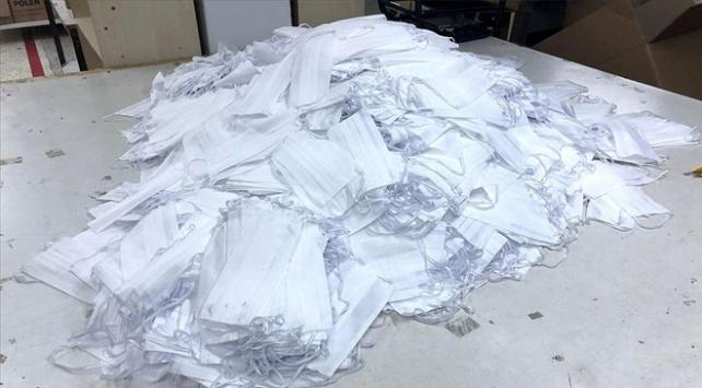 Erzurumda 50 bin cerrahi maske ele geçirildi