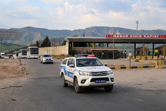 Iraktan 366 Türk vatandaşı Türkiyeye getirildi