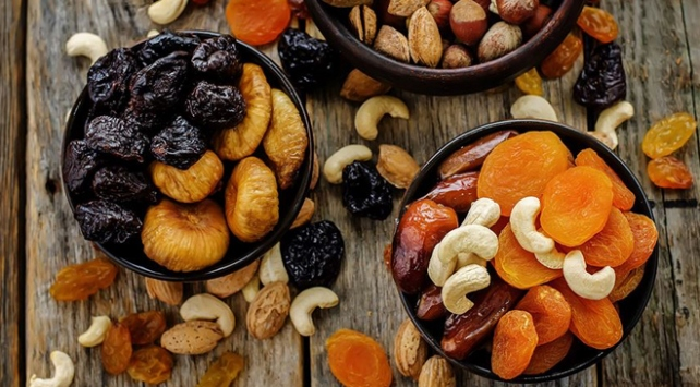Güneydoğudan 54 milyon dolarlık kuru meyve ihracatı