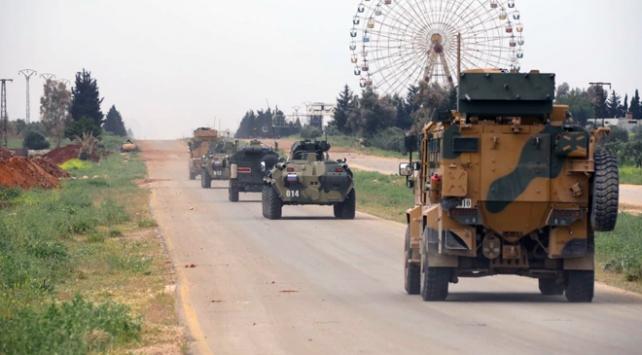 İdlibde 5. ortak devriye