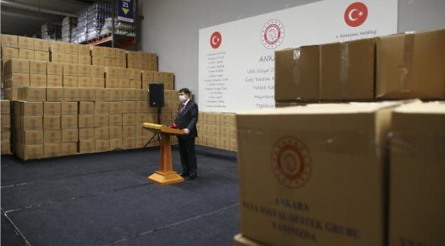 Ankarada ihtiyaç sahipleri için 80 bin gıda yardım kolisi hazır