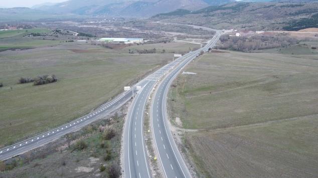 Karadeniz kentlerini İstanbula bağlayan kara yolu en sakin günlerini yaşıyor