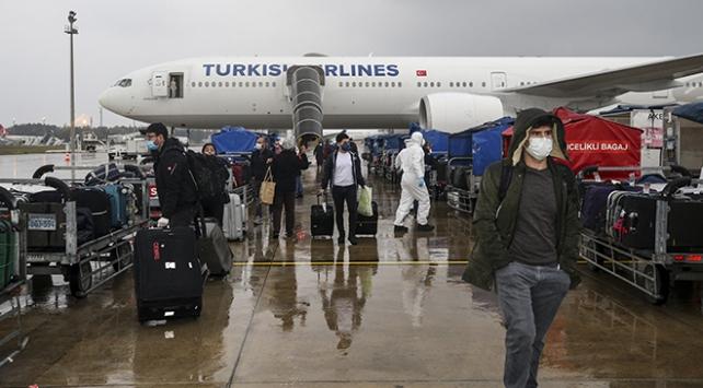 Almanyada bulunan 285 Türk vatandaşı Ankaraya getirildi