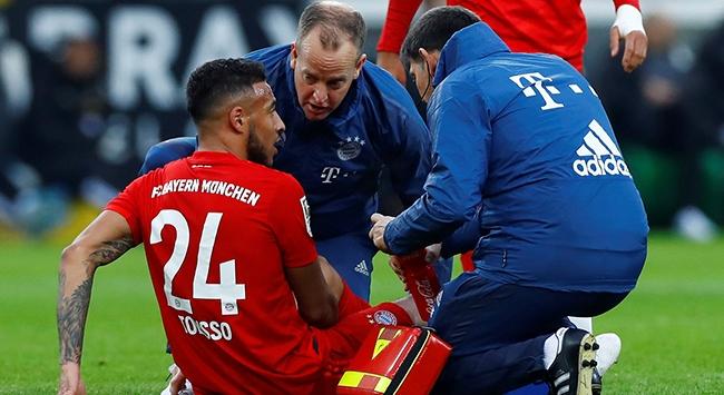 Bayern Münihli Tolisso ayak bileğinden ameliyat edildi