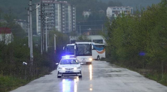 Romanyadan gelen Türkler yurda yerleştirildi