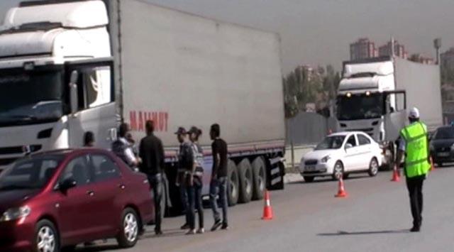 Ankarada Kaçak Sigara Operasyonu