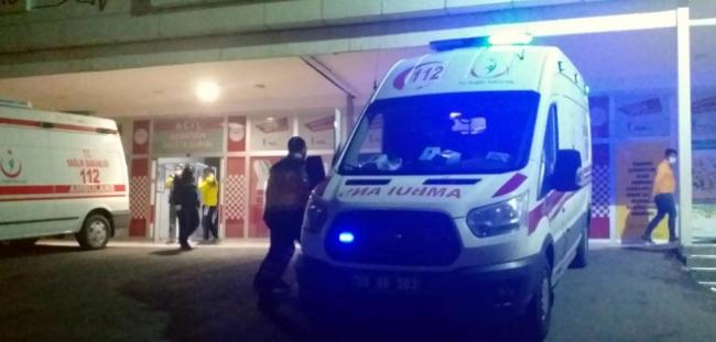 Silahlı çatışmaya müdahaleye giden 2 polis yaralandı