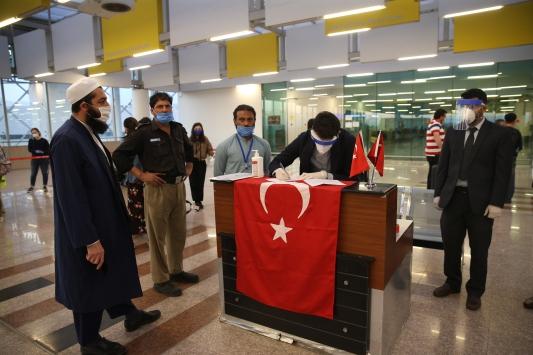 Pakistandaki 133 Türk vatandaşı ülkeden ayrıldı