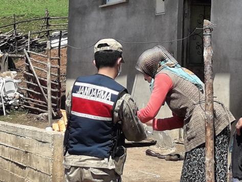 Orduda Vefa Sosyal Destek Grupları bir ayda 37 bin 561 vatandaşa hizmet verdi