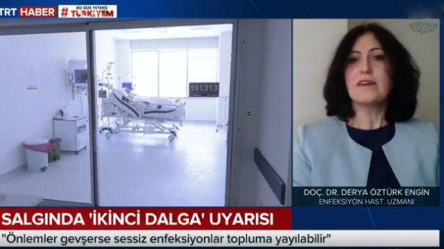Doç. Dr. Derya Öztürk Engin, koronavirüste 'ikinci dalga' tehlikesini anlattı