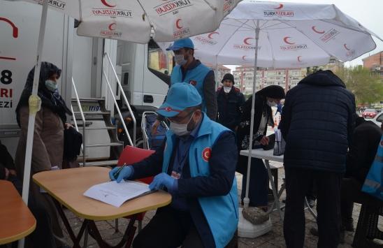 Kütahyada din görevlileri kan bağışında bulundu