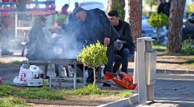 Edirnede piknik yapanlara para cezası