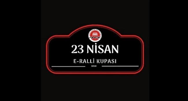 23 Nisana özel e-Ralli Kupası