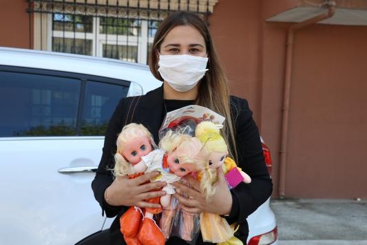 Edirnede Vefa Sosyal Destek Grubu, 23 Nisanda çocukların yüzünü güldürdü