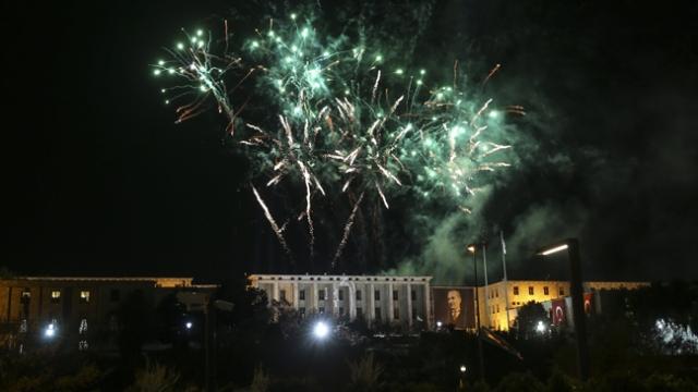 Meclis'in 100. yılında görkemli kutlama